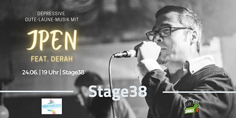 Stage38: Rapper/MC JPen feat. Derah Tickets
