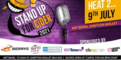 Stand up for Cider  - comedy competition the audience choose the winner tickets