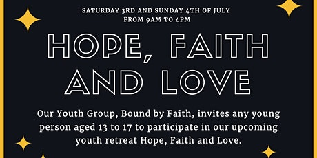 Bound by Faith Youth Retreat 2021 tickets