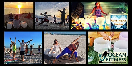Sunset Sound Healing + Beach Yoga Journey in Downtown St Pete! tickets