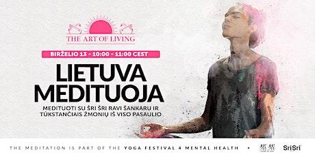 Lietuva medituoja kartu su Šri Šri Ravi Šankaru tickets