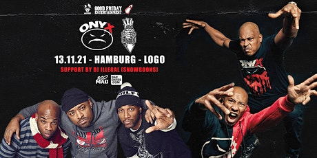 Onyx & Lords Of The Underground Live in Hamburg - Logo Tickets