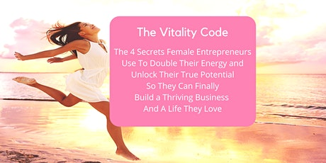 4 Secrets to Beat Stress & Double Your Energy for a Biz and a Life You Love tickets