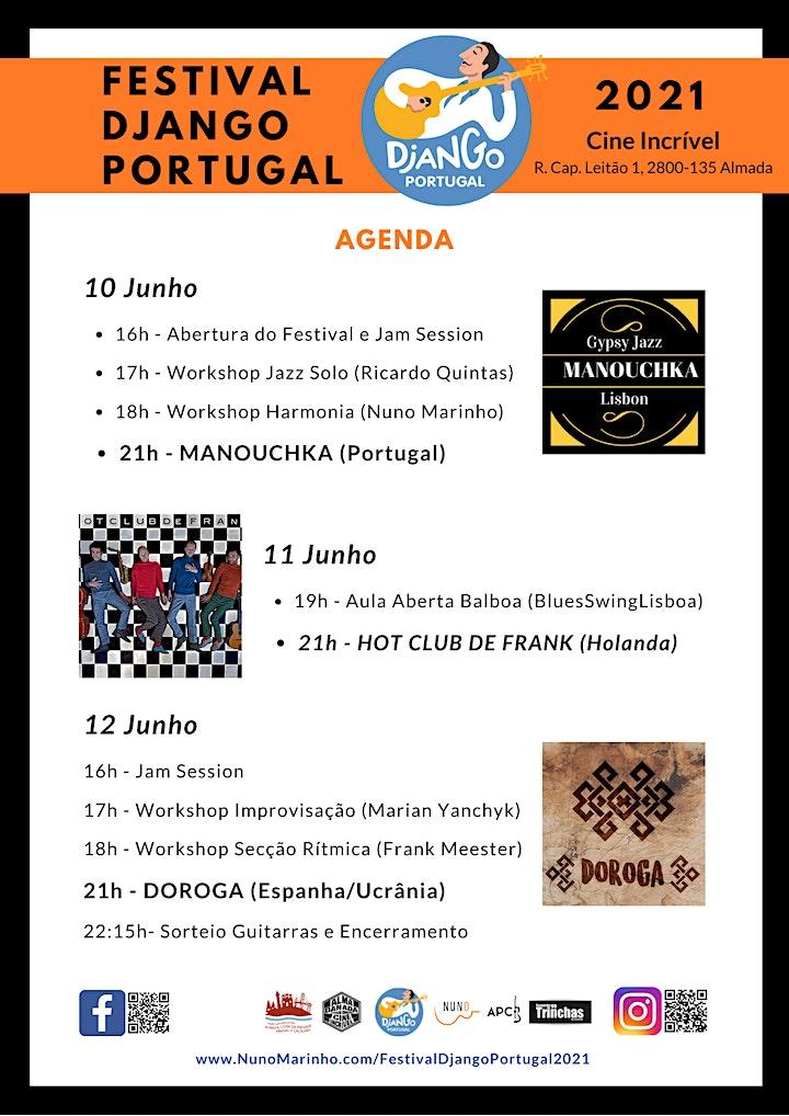 imagem Festival Django Portugal 2021