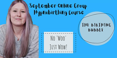 September Online Hypnobirthing Course tickets