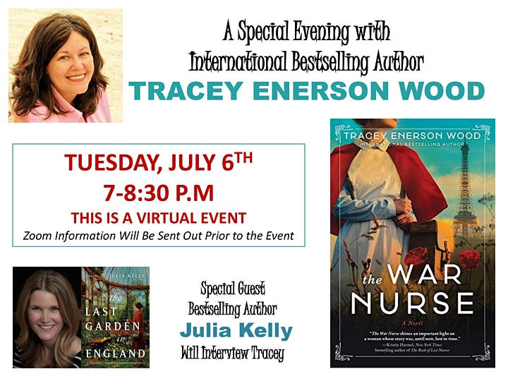 Author TRACEY ENERSON WOOD Interviewed by Author JULIA KELLY image