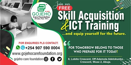 GOJEHO Skill Acquisition & ICT Training tickets