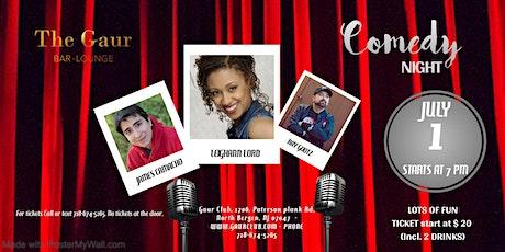Live Comedy Thursdays @ Gaur Club on Thursday, 1st July, 2021 tickets