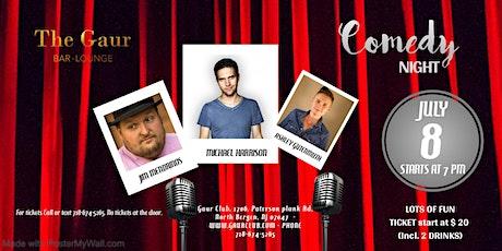 Live Comedy Thursdays @ Gaur Club on Thursday, 8th July, 2021 tickets