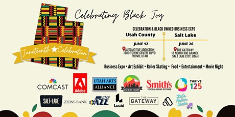 Salt Lake & Utah County Juneteenth Celebration & Black Owned Business Expo tickets