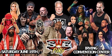 "SWE FURY TV'S ""NORTH TEXAS FURY FEST"" PRO WRESTLING EXTRAVAGANZA tickets"