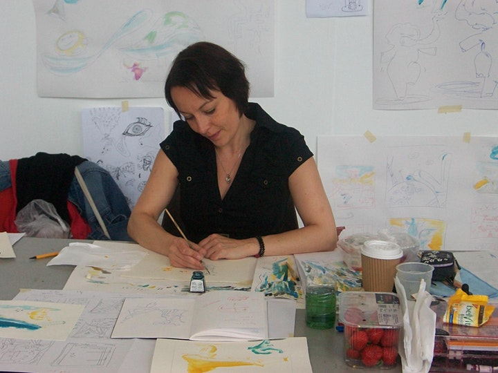 Harnessing the Energy of the Summer Solstice - Yoga & Art Workshop image