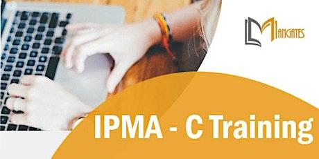 IPMA – C 3 Days Training in Toluca de Lerdo boletos