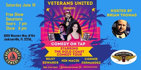 Veterans United Comedy Show Starring The Gold Coast Comedy Tour tickets