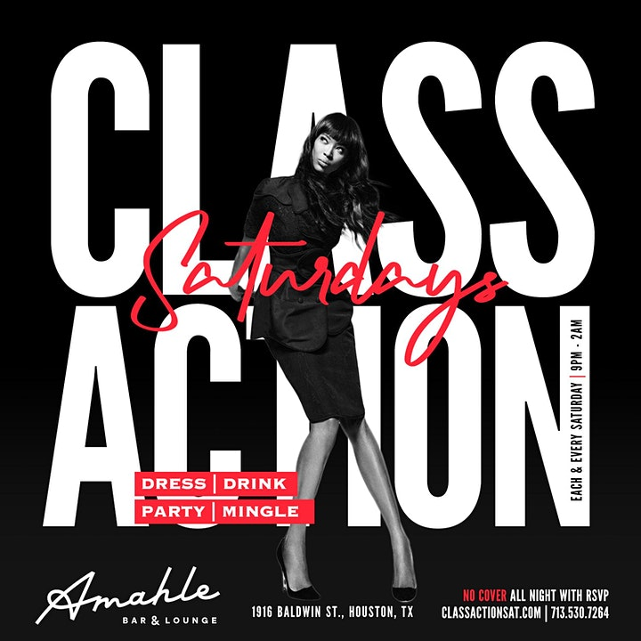 Class Action Saturdays Professional Brunch + Day Party + Nightlife image