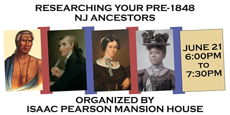 Researching Your Pre-May 1848 New Jersey Ancestors tickets