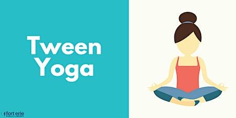 Tween Yoga tickets