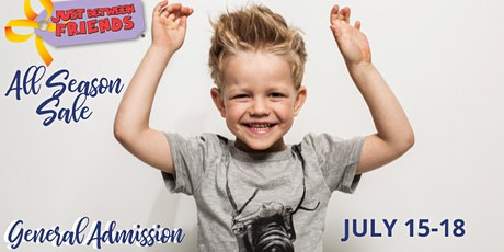 Open to the Public General Admission   JBF OP All Season Sale 2021 tickets