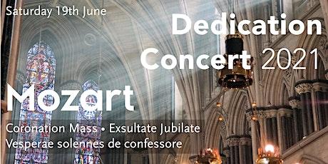 Dedication Concert 2021 tickets