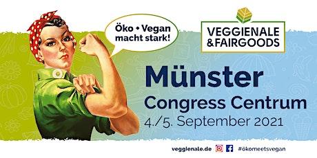 Veggienale & FairGoods Münster 2021 + GRÜNES GELD Tickets