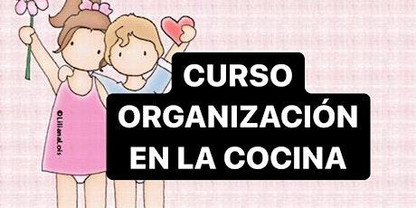 CURSO ORGANIZACION EN LA COCINA JULIO: VIVO + GRABACION entradas