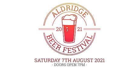 Aldridge Beer Festival 2021 tickets