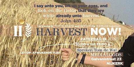 Harvest Now Juni met Tom de Wal tickets