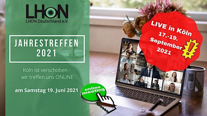 LHON Deutschland - online Jahrestreffen: Bild