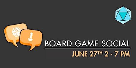 June Board Game Social tickets
