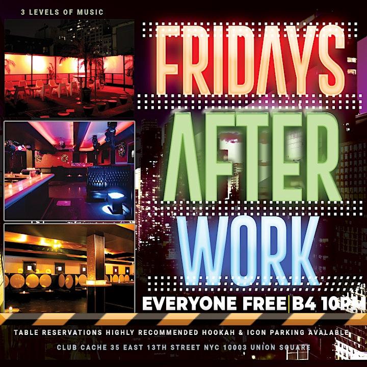 Fridays Afterwork @ club cache image