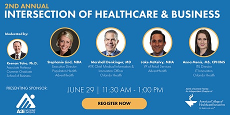 2nd Annual Intersection of Healthcare & Business tickets