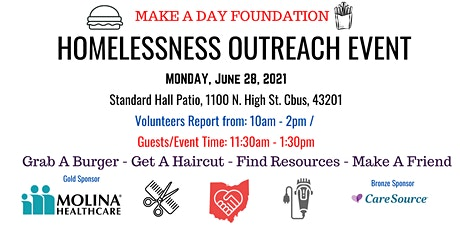 Make-A-Day Volunteer Registration for June 28th Homelessness Outreach Event tickets