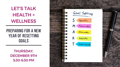 Free Seminar: Preparing for a New Year of Resetting Goals tickets