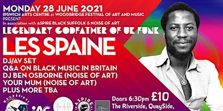 Les Spaine Godfather of UK Funk DJs - DJ  AV show & Q&A tickets