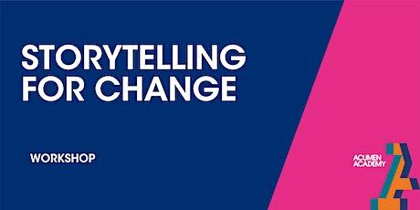 Storytelling for Change (2) - Workshop tickets