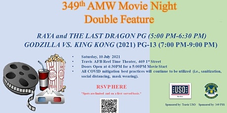 349th AMW Movie Night Double Feature! tickets