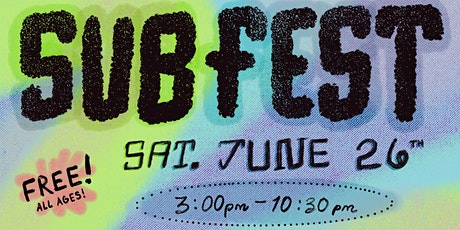 Subfest tickets