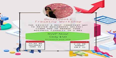 QuickBooks Training Workshop tickets