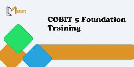 COBIT 5 Foundation 3 Days Virtual Live Training in Puebla tickets