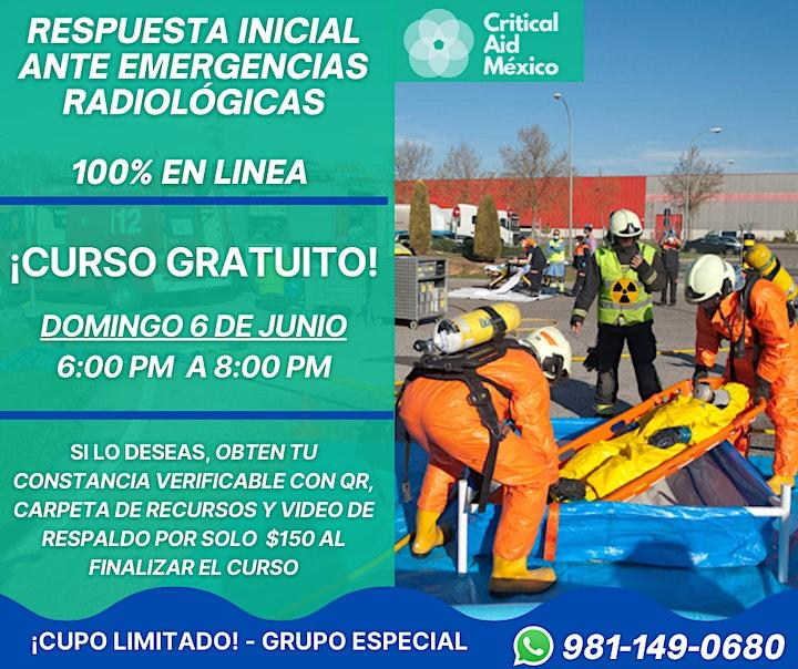 Imagen de Respuesta Inicial ante Emergencias Radiológicas -   CURSO GRATUITO