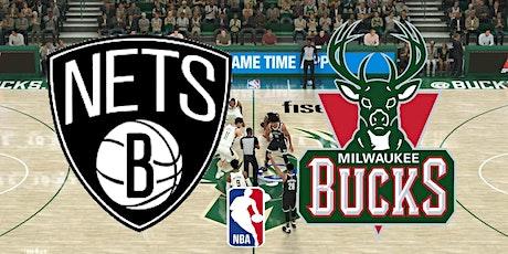 ONLINE-StrEams@!.Milwaukee Bucks v Brooklyn Nets LIVE ON 2021 tickets