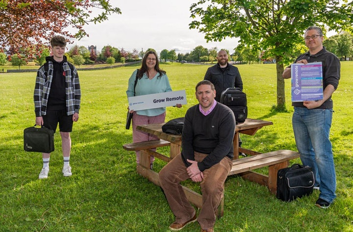 Grow Remote Ballinasloe Meet Up - Jobs, Skills , Community image