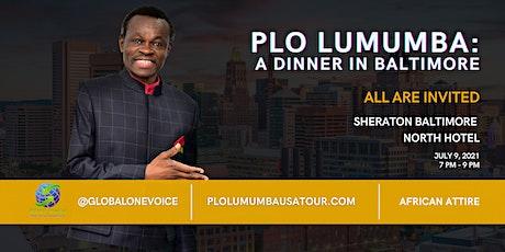 PLO Lumumba Dinner in Baltimore tickets
