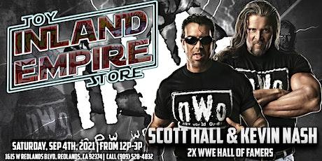 Meet WWE Legends & Hall of Famer's Kevin Nash & Scott Hall tickets