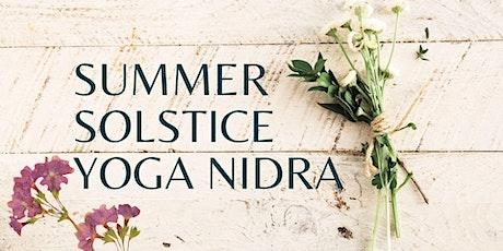 Summer Solstice Yoga Nidra Tickets