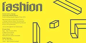 UoB School of Art and Design Fashion Show
