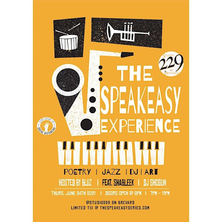 The SpeakEasy ft. Bluz, Shableek, & DJ Shogun (Uptown Thursday Night) image