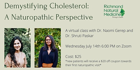 Demystifying Cholesterol:  A Naturopathic Perspective tickets