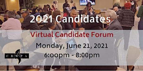 GM Candidate Forum - 2021 (CANDIDATE Registration) tickets