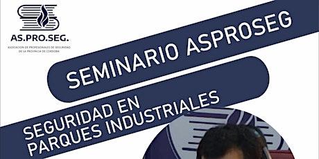 Seminario de Seguridad en Instalaciones Comerciales e Industriales entradas